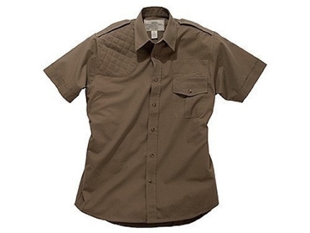 Boyt Shumba Shell Loop Safari Shirt Short Sleeve Cotton Poplin
