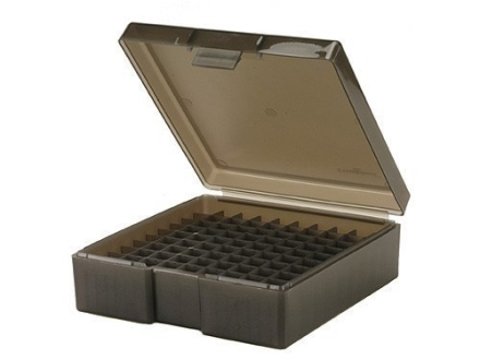 Frankford Arsenal Flip-Top Ammo Box #1007 41 Remington Magnum, 44 Remington Magnum, 45 Colt (Long Colt) 100-Round Plastic