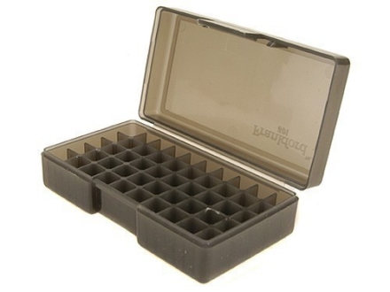 Frankford Arsenal Flip-Top Ammo Box #501 30 Luger, 380 ACP, 9mm Luger 50-Round Plastic