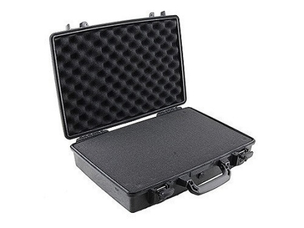 Pelican 1490 Attache Pistol Gun Case with Pre-Scored Foam Insert Polymer