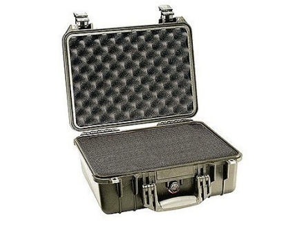 Pelican 1450 Pistol Gun Case with Pre-Scored Foam Insert Polymer
