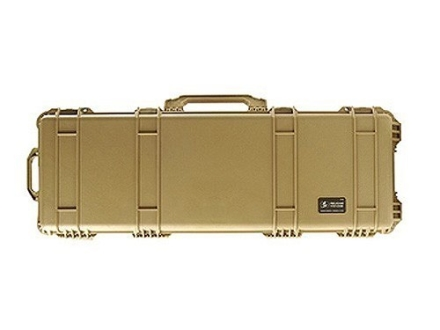 Pelican 1720 Scoped Rifle Gun Case with Solid Foam Insert and Wheels Polymer