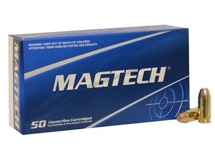 Magtech Sport Ammunition 40 S&W 180 Grain Full Metal Jacket Box of 50