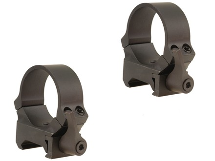 Leupold 30mm QRW Quick-Release Weaver-Style Rings Matte Medium