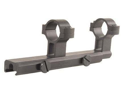 "B-Square Military Weaver-Style Scope Base with 1"" Rings AR-15 Flat-Top Matte"