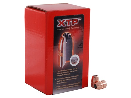 Hornady XTP Bullets 44 Caliber (430 Diameter) 200 Grain Jacketed Hollow Point Box of 100