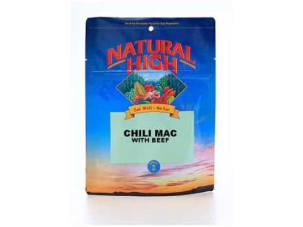 Natural High Chili Mac with Beef Freeze Dried Meal 5.62 oz