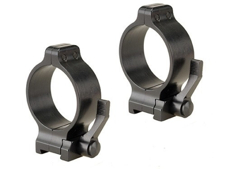 Talley 30mm Quick Detachable Scope Rings With Lever Matte Medium