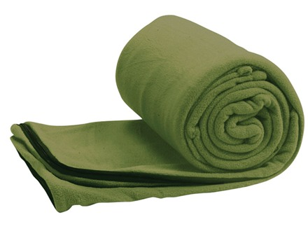 Coleman Stratus Fleece 50 Degree Sleeping Bag 33&quot; x 75&quot; Polyester Assorted Colors