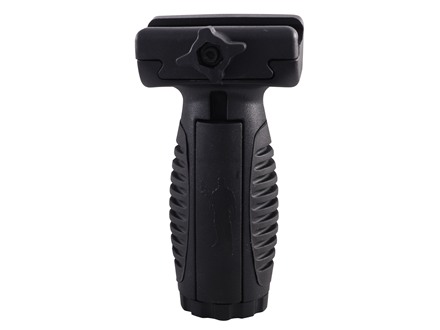 Command Arms MVG Short Vertical Forend Grip with Storage Compartment & Pressure Switch Mount AR-15 Rubber Overmolded Polymer
