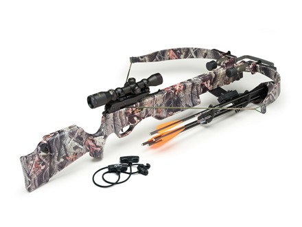 Excalibur Exomax Crossbow Package with Shadow-Zone Illuminated Scope Realtree Hardwoods Camo