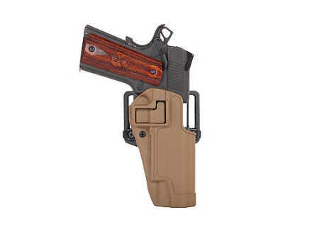 BlackHawk CQC Serpa Holster Right Hand 1911 Government Polymer Coyote Tan