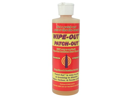 Sharp Shoot R Wipe-Out Patch-Out Brushless Bore Cleaning Solvent 8 oz Liquid