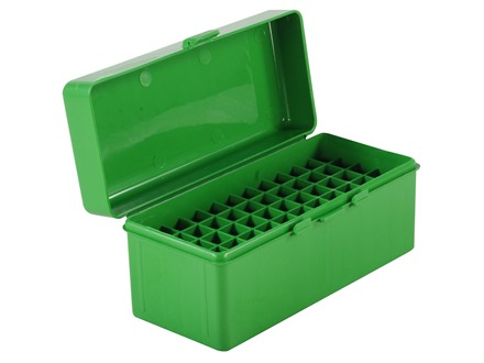 MTM Flip-Top Ammo Box 22-250 Remington, 243 Winchester, 308 Winchester 60-Round Plastic