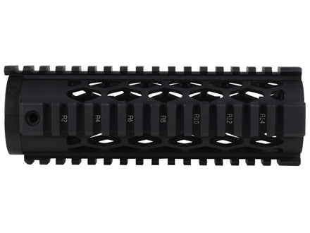 Yankee Hill Machine Diamond Free Float Tube Handguard Quad Rail AR-15 Aluminum Matte
