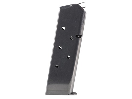 Colt Magazine 1911 Government, Commander 45 ACP 7-Round Stainless Steel