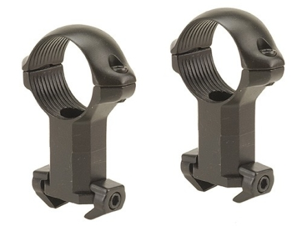 "Millett 1"" Angle-Loc Windage Adjustable Weaver-Style Rings Matte Extra-High"