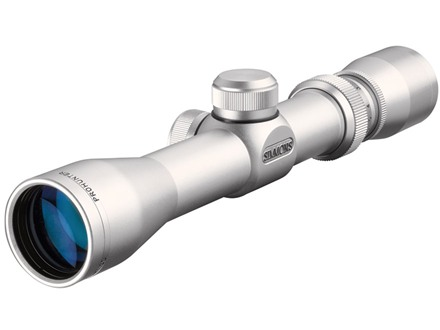 Simmons ProHunter Pistol Scope 2-6x 32mm Truplex Reticle Silver