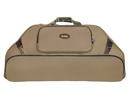 Allen 39&quot; Outfitter Bow Case with 3 Pockets Nylon Olive Drab and Mossy Oak Break-Up Infinity Camo