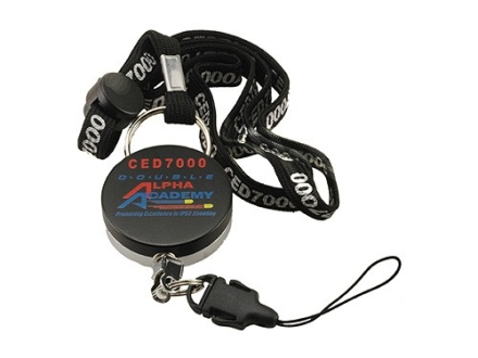 CED Retractable Neck Lanyard Set fits 7000 Shot Timer