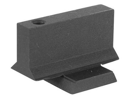 Cylinder &amp; Slide Strong Site Front Sight with Support Gusset 1911 Novak Cut .075&quot; Depth .295&quot; Height .125&quot; Width Steel Blue
