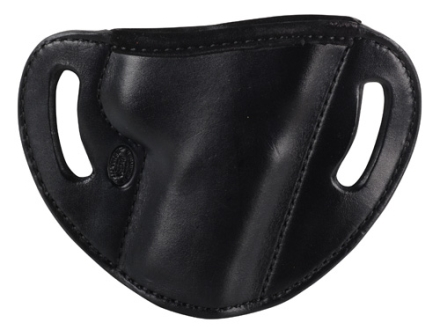 El Paso Saddlery #88 Street Combat Outside the Waistband Holster Right Hand Smith & Wesson M&P 9/40 Leather Black