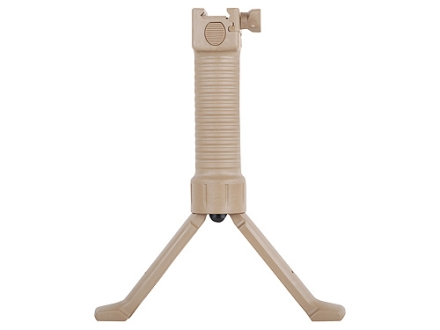 Grip Pod Vertical Grip Bipod With Steel Reinforced Legs Tan