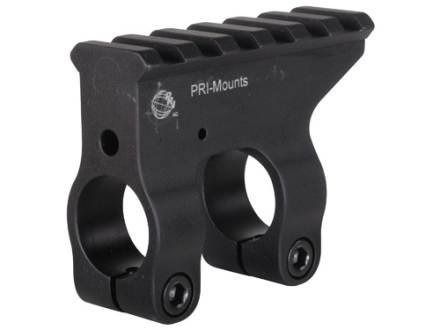 "PRI Gas Block Single Picatinny Rail AR-10, LR-308 Standard Barrel .750"" Inside Diameter Aluminum Matte"
