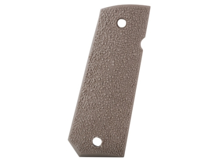 ERGO XTR Hard Rubber Grip Panels Aggressive Texture Tapered Bottom 1911 Government, Commander