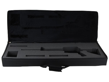 "Bulldog Hard-Sided Tactical Rifle Gun Case AR-15 Carbine 40"" Nylon Black"