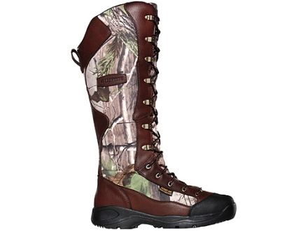 "LaCrosse Venom Scent HD 18"" Waterproof Uninsulated Snake Boots Leather and Nylon"