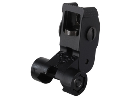 DoubleStar Flip-Up Rear Sight AR-15 Flat-Top Aluminum Matte
