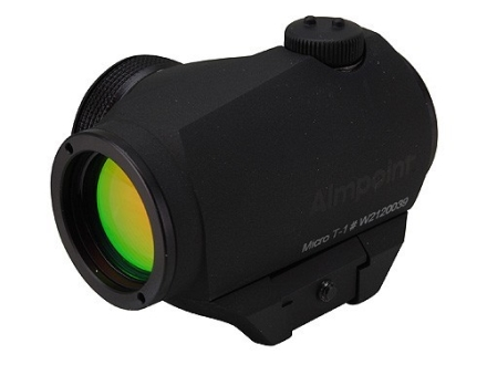 Aimpoint Micro T-1 Tactical Red Dot Sight 4 MOA with Picatinny-Style Mount Matte