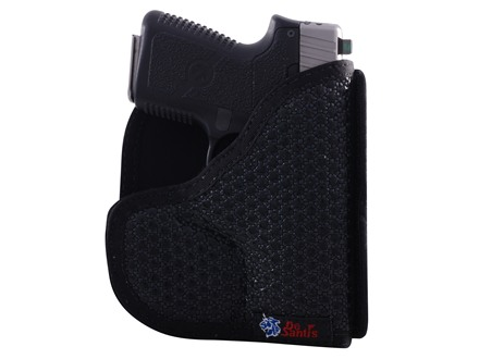 DeSantis Super Fly Pocket Holster Ambidextrous Kahr K9, P9, MK9, PM9, Kel-Tec PF9, Ruger LC9 Nylon Black