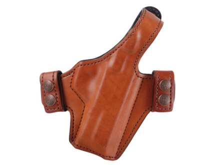 Bianchi Allusion Series 130 Classified Outside the Waistband Holster Right Hand Smith & Wesson M&P 9mm, 40 S&W Leather Tan