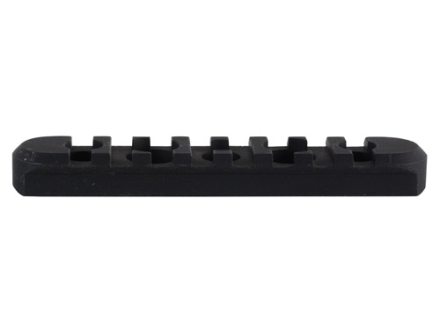 Midwest Industries Customizable Rail Section for SS-Series Free Float Tube Handguard AR-15 Aluminum Black