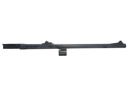 "Remington Slug Barrel Remington 1100 Deer 12 Gauge 2-3/4"" 21"" Rem Choke with Rifled Choke Tube Rifle Sights Blue"