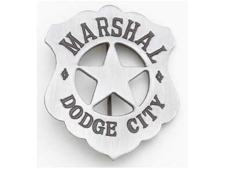 Collector&#39;s Armoury Replica Old West Deluxe Marshal Dodge City Badge