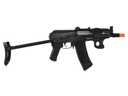AfterMath Kraken Paratrooper Airsoft Rifle 6mm Blowback Semi-Automatic Polymer Black