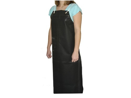 "Baker Shop Apron Neoprene Black 35"" Long"