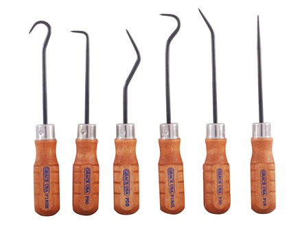 Grace USA 6-Piece Hook & Pick Set