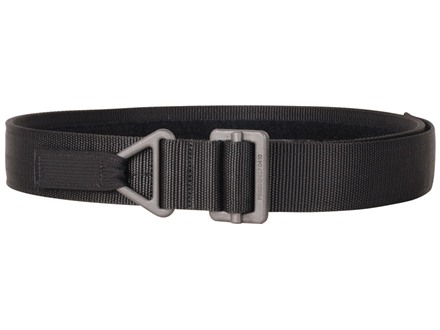 "Blackhawk Instructor Gun Belt 1-3/4"" Black Steel Buckle Nylon Black"
