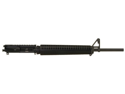 DPMS AR-15 A3 Flat-Top Upper Assembly 5.56x45mm NATO 1 in 9&quot; Twist 20&quot; Barrel Chrome Moly Matte with A2 Handguard, A2 Front Sight