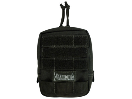 "Maxpedition Padded Pouch 4-1/2"" x 6"" Nylon Black"