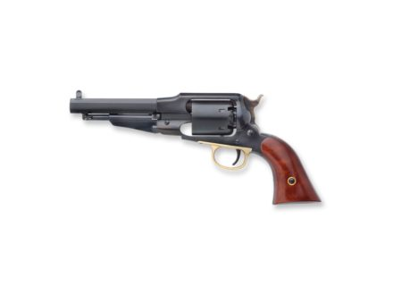 "Uberti 1858 Remington Steel Frame Black Powder Revolver 44 Caliber 5-1/2"" Blue Barrel"