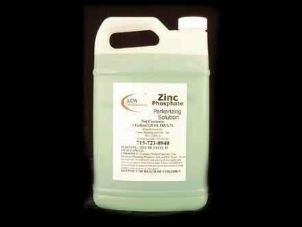 Lauer Zinc Phosphate Parkerizing Solution 1 Gallon Liquid