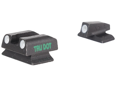 Meprolight Tru-Dot Sight Set Beretta PX4 Storm (F & G Models) Steel Blue Tritium Green