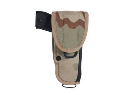 Bianchi UM84-1 Universal Military Holster Large Frame Semi-Automatic 5&quot; Barrel Nylon Desert Camo