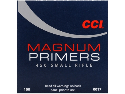 CCI Small Rifle Magnum Primers #450 Case of 5000 (5 Boxes of 1000)
