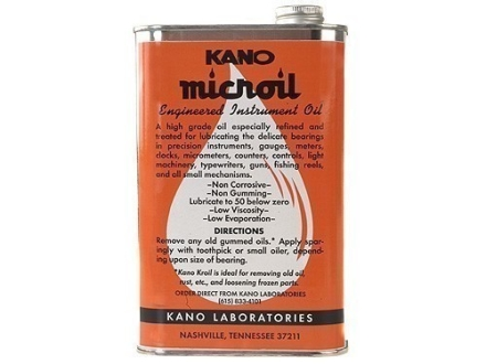 Kano Microil Precision Instrument and Gun Oil 32 oz